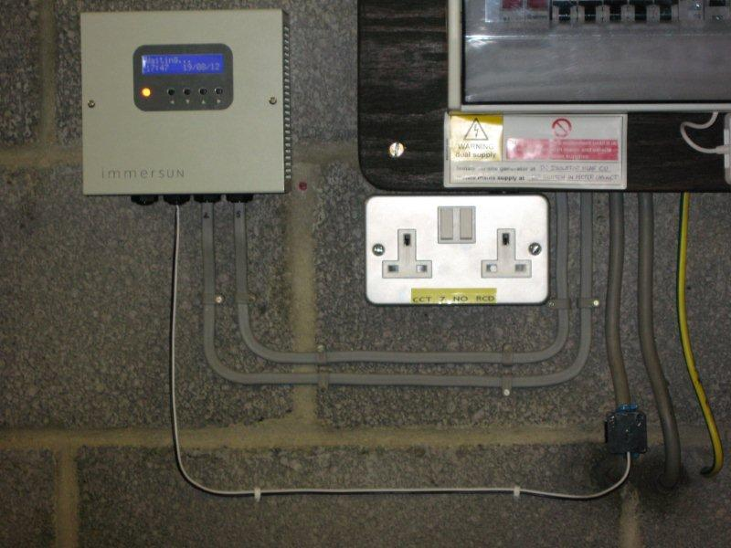 We Now Install The Immersun Solar Immersion Heater