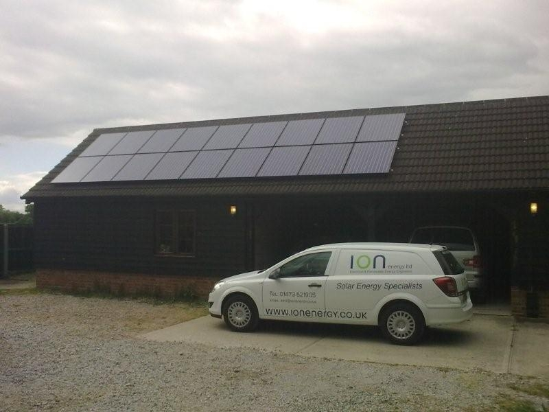Ipswich Solar Pv Panel Photo Gallery Pictures Ion Energy Ltd